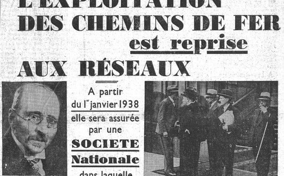 Création de la SNCF