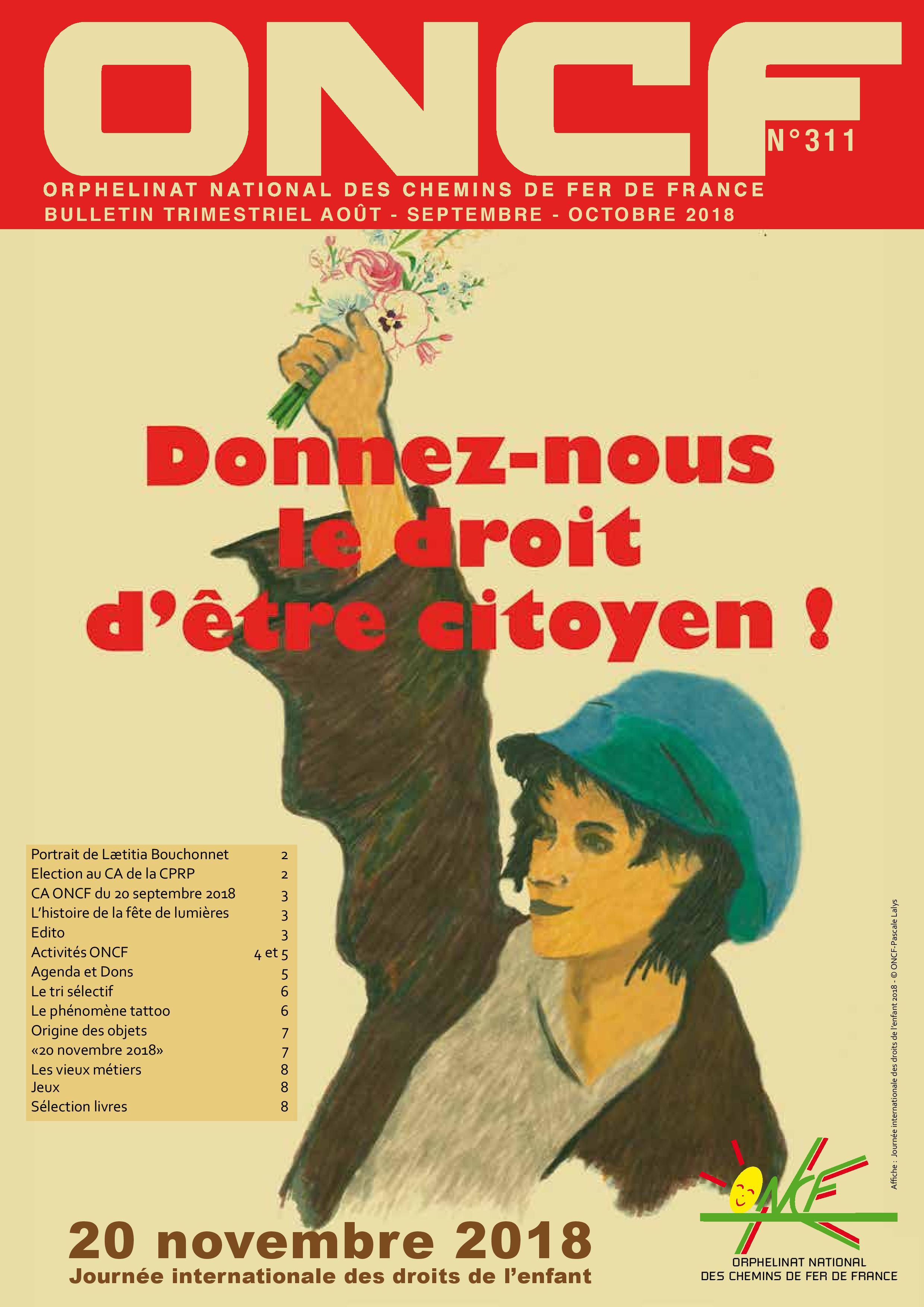 Bulletin de l'Orphelinat n°311