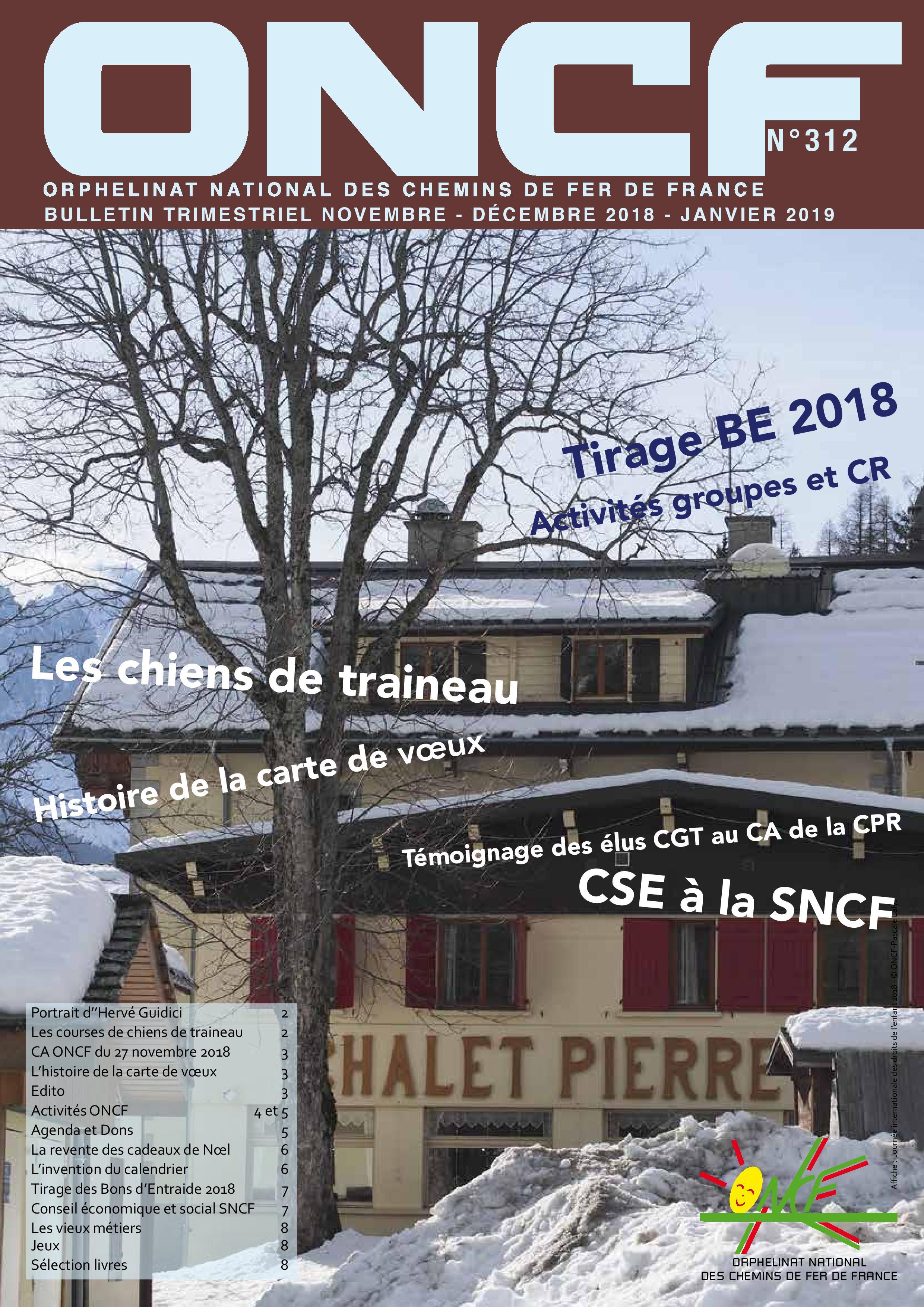 Bulletin de l'Orphelinat n°312