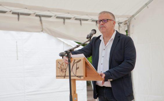 Intervention du secrétaire général de l'ONCF Laurent LATOUCHE à la fête Nationale .