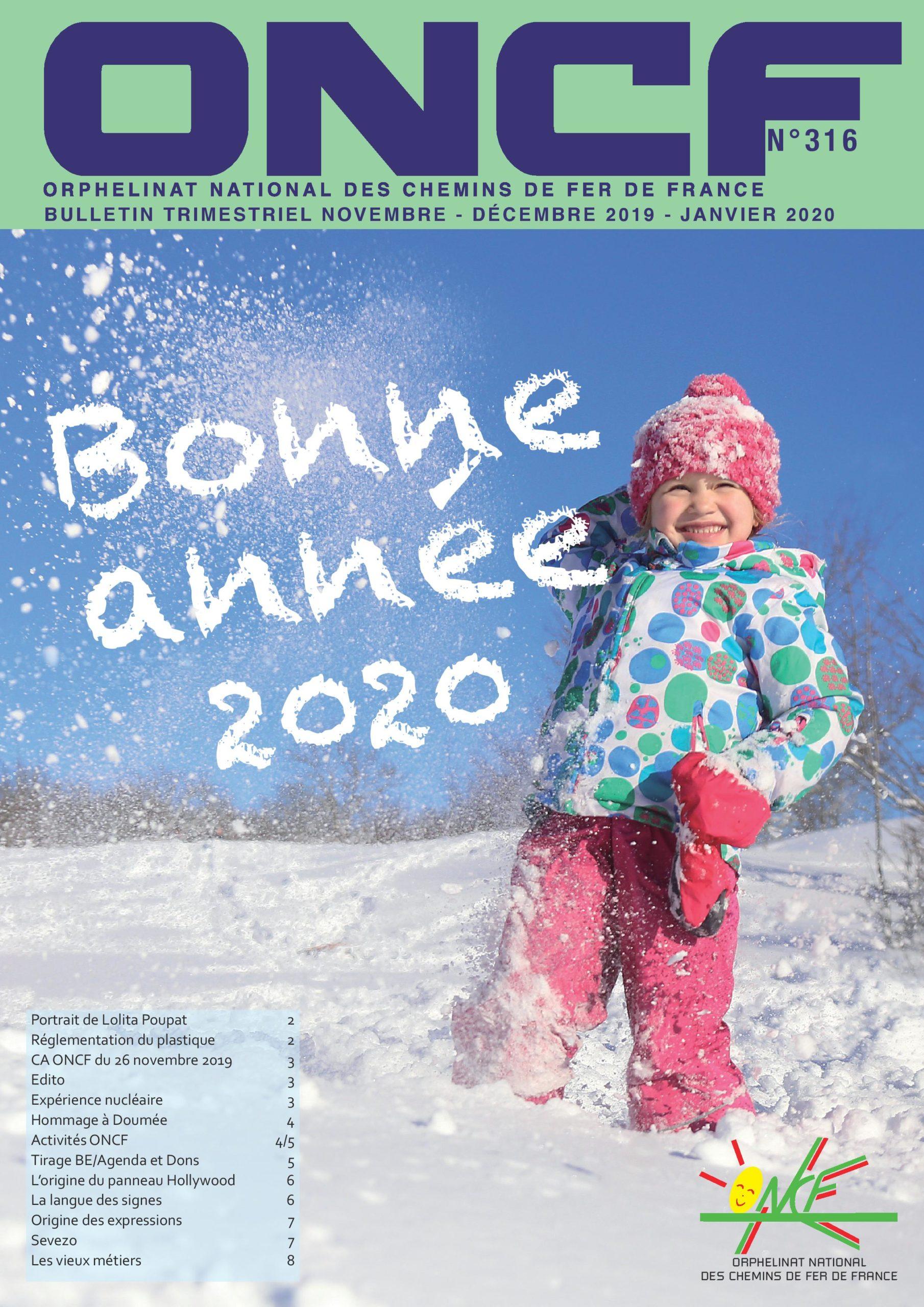 Bulletin de l'Orphelinat n°316