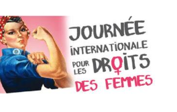 Le 8 mars est la Journée Internationale pour les Droits des Femmes